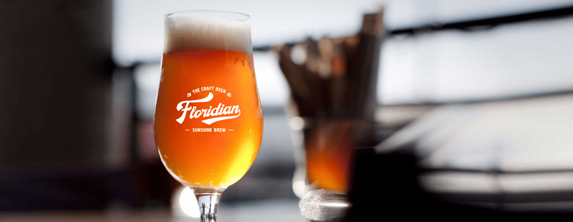 Case: development of brand components for a producer of  craft beer Floridian — Rubarb - Image - 1