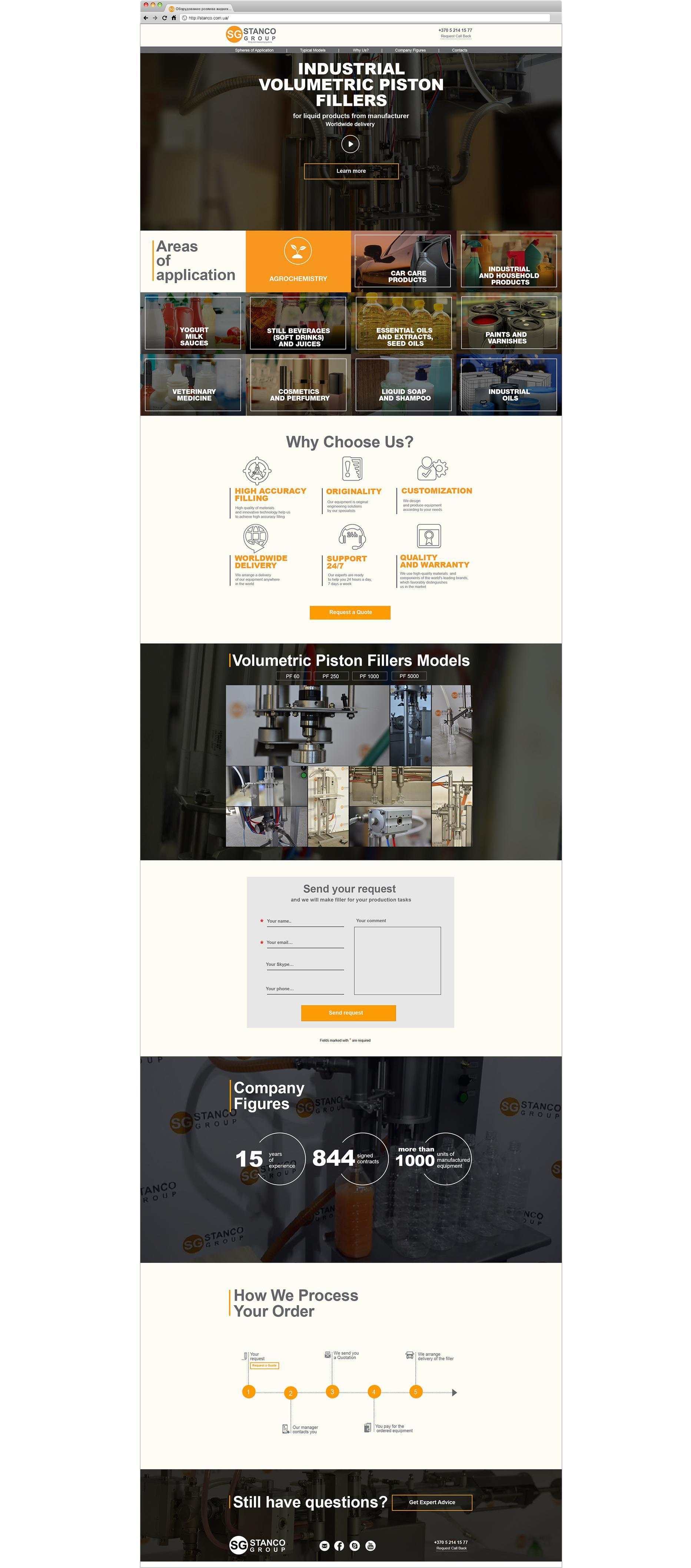 Case: Website Development, Video and Marketing Kit for Stanco Group — Rubarb - Image - 2