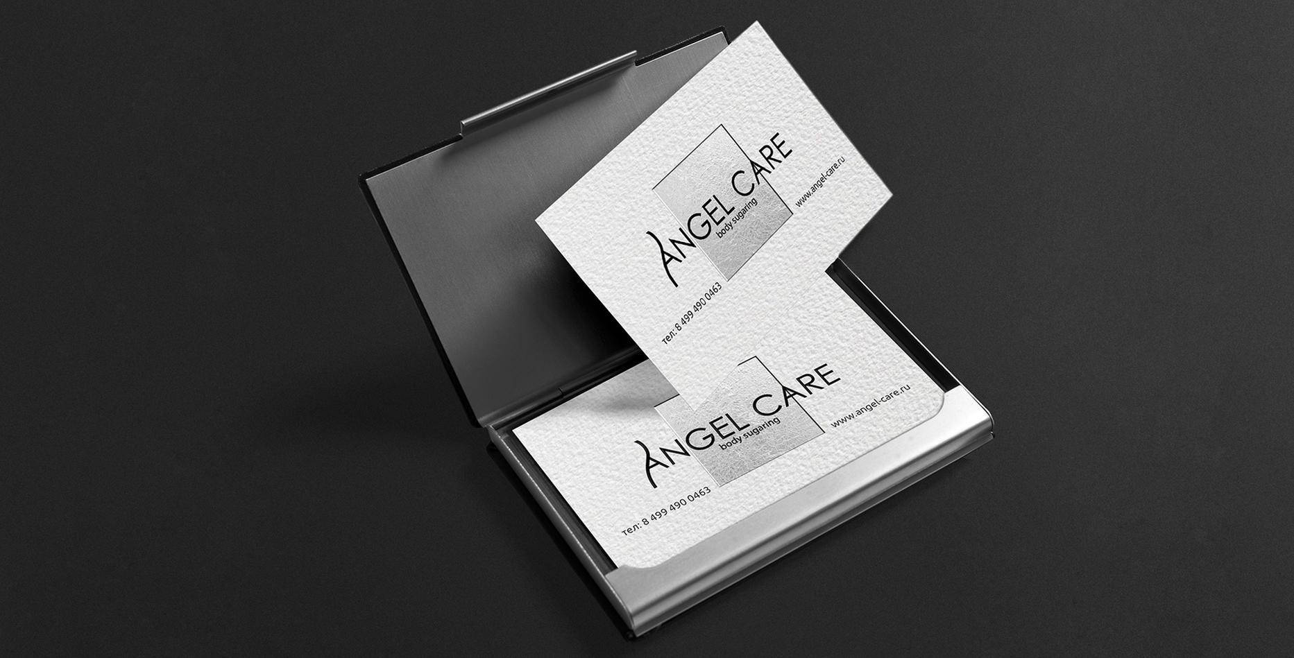 Case: logo, corporate identity, promotional products for Angel Care — Rubarb - Image - 11