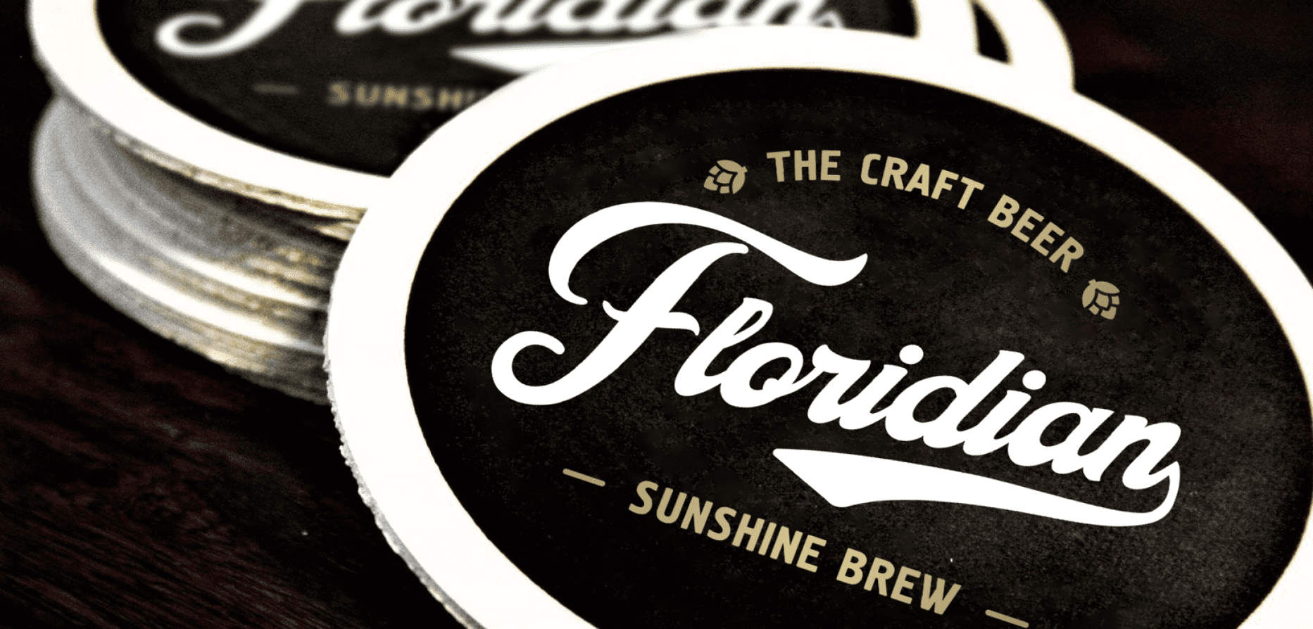Case: development of brand components for a producer of  craft beer Floridian — Rubarb - Image - 2