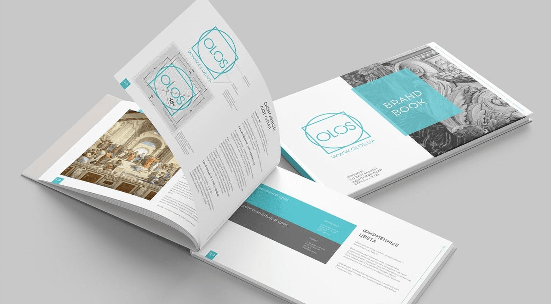 Case: logo design, website and brand book for Olos — Rubarb - Image - 7