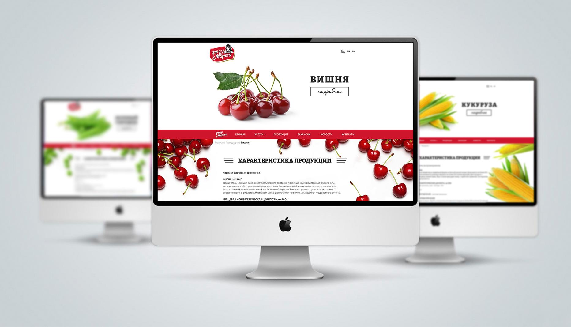 Case: development of a website for Frau Marta — Rubarb - Image - 2