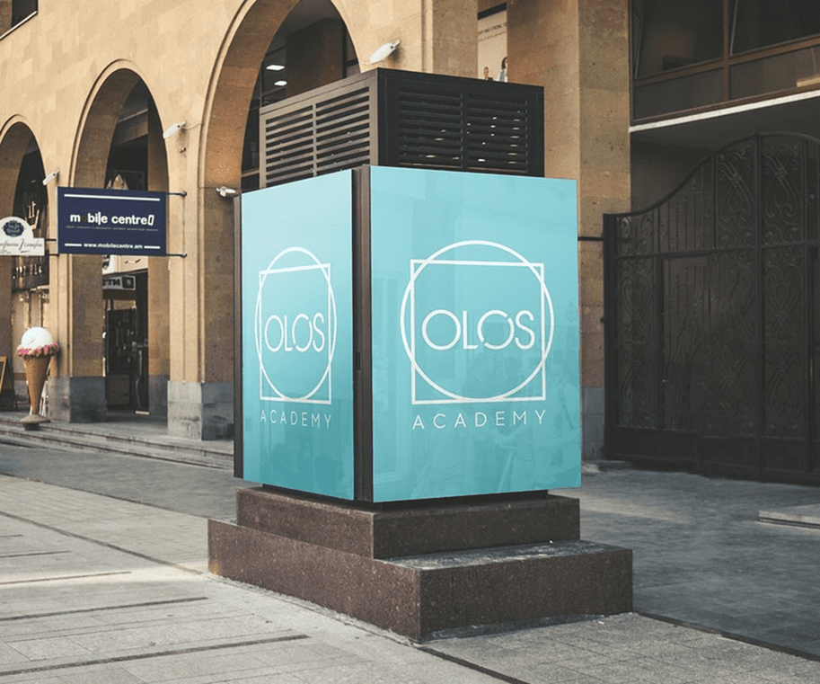 Case: logo design, website and brand book for Olos — Rubarb - Image - 5