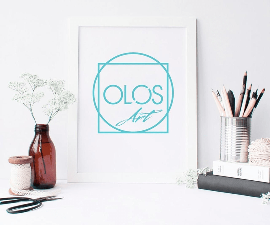 Case: logo design, website and brand book for Olos — Rubarb - Image - 6